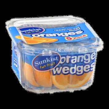 Sunkist Fruit Fun Ready-To-Eat Sliced Orange Packs - 5 CT
