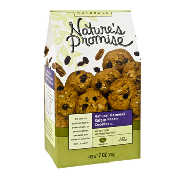 Nature's Promise Naturals Oatmeal Raisin with Pecans Cookies