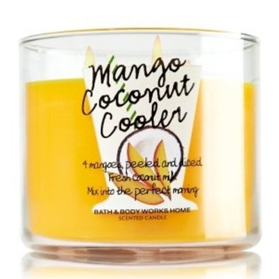 Bath & Body Works Mango Coconut Cooler 3-Wick Candle