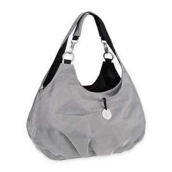 Habermaass Corporation Lassig Gold Label Shoulder Diaper Bag - Silver