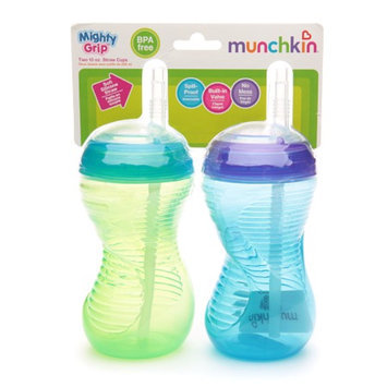 Munchkin Mighty Grip Straw Cups