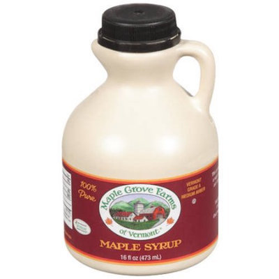 Vermont Maid Maple Grove Farms Maple Syrup, 16 fl oz