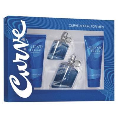 Men's Curve Appeal Fragrance Gift Set - 4 pc