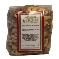 Bergin Fruit And Nut Bergin Nut Company Deluxe Mixed Nuts, Roasted & Salted, 16 Ounce Bag