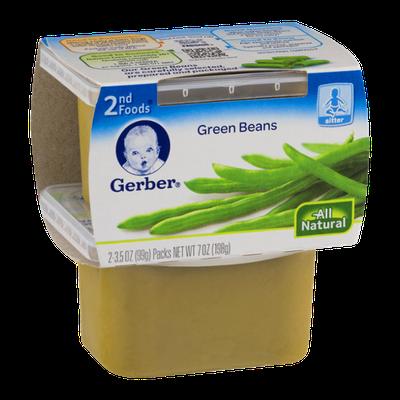 Gerber 2nd Foods Green Beans - 2 CT