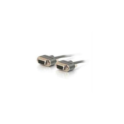 C2G 25375 6FT CMP-RATED LOW PROFILE DB9 MODEM CABLE F-F