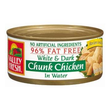 Valley Fresh White & Dark Chunk Chicken 10-oz.