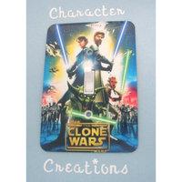 Star Wars CLONE WARS Standard Metal Light switch Cover