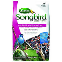 Scotts Songbird Songbird Selections Multi-Bird Blend Wild Bird Food with Fruits and Nuts, 15-Pound