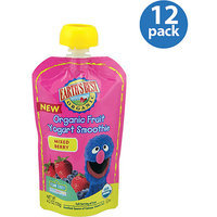 Earth's Best Organic Sesame Street Mixed Berry Fruit Yogurt Smoothie