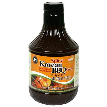 J1 Korean BBQ Sauce, Mild Spicy Bulgogi, 40-Ounce Bottles (Pack of 3)