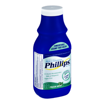 Phillips Milk of Magnesia Fresh Mint Saline Laxative