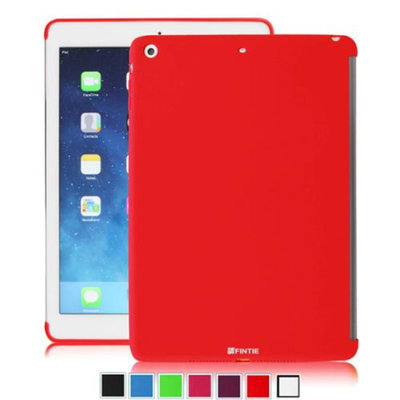 Fintie SoftGel TPU Back Case Smart Cover Partner for Apple iPad mini / iPad mini 2 with Retina Display, Red