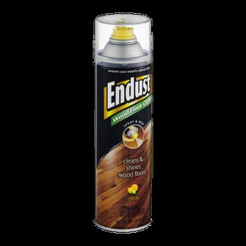 Endust Citrus Wood Floor Cleaner