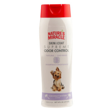 Nature's Miracle NATURE'S MIRACLETM Coconut Water Scented Dog Shampoo & Conditioner