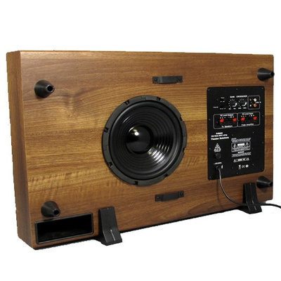 Theater Solutions SUB8SM Subwoofer System - 100 W RMS - Mahogany - 35 Hz - 150 Hz