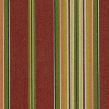 Blazing Needles Kingsley Stripe Ruby Chair Cushion 93450-REO-17