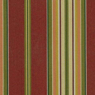 Blazing Needles Kingsley Stripe Ruby Chair Cushion 93450-REO-17
