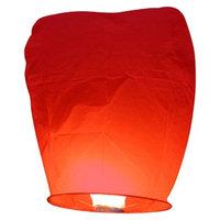 Luminarias Sky Lanterns (Set of 4) Color: Red