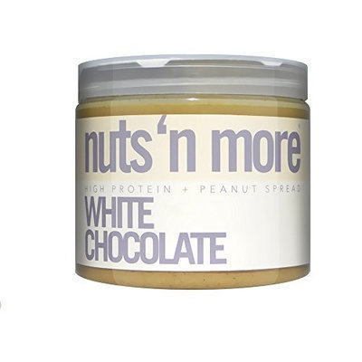 Nuts N More Nuts 'N More White Chocolate Peanut Butter - 16 Oz [1 Pack]