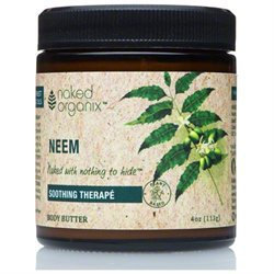 Organix South - Naked Organix Neem Body Butter Fragrance Free - 4 oz.