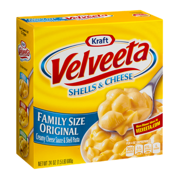 Velveeta Shells & Cheese Family Size Dinner Original