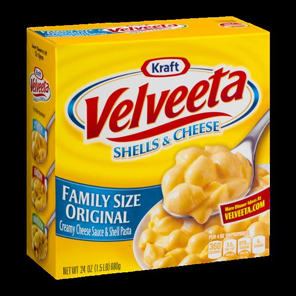 Velveeta Shells & Cheese Family Size Dinner Original