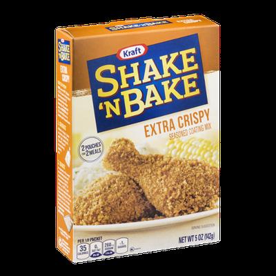 Kraft Shake 'N Bake Seasoned Coating Mix Pouches Extra Crispy - 2 CT