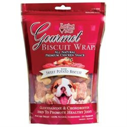 Shopzeus Loving Pets Gourmet Biscuit Wraps Chicken with Sweet Potato Biscuit:
