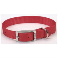 Coastal Pet Products CO05901 18 in. HeavyWeight Web Collar Red