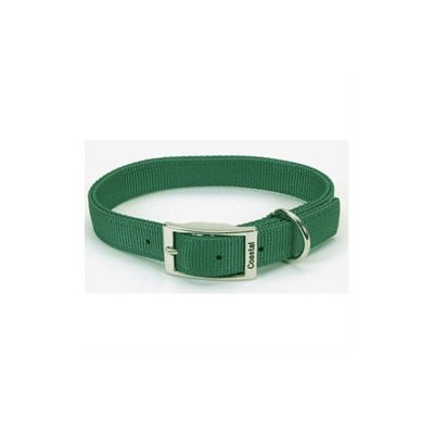 Coastal Pet Products CO06428 22 in. Double Web Collar Green