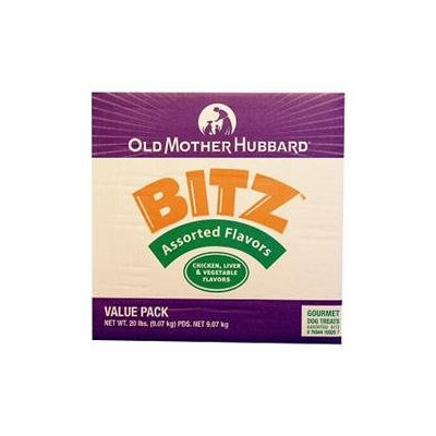 Phillips Feed & Pet Supply Old Mother Hubbard Bitz Crunchy - Assorted Flavors - 20 lb