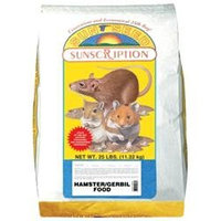 Sunseed Sun Seed Company SSS93025 Hamster and Gerbil Economy Mix 25lb
