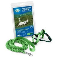 Premier Pet Come with Me Kitty Harness - Electric Lime - Small