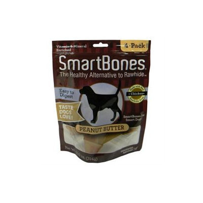 Petmatrix Llc - Smartbones- Peanut Butter Medium-4 Pack - PB-00216