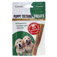 N-Bone Puppy Teething Treats Chicken Single Pack