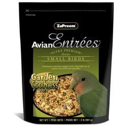 ZuPreem Avian Entrees Garden Goodness Mix for Small Birds: 2 lbs