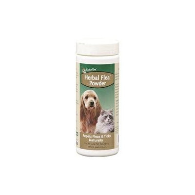 Nutri-vet Naturvet 978080 Natv Herbal Flea Pet Powder 4 Oz.