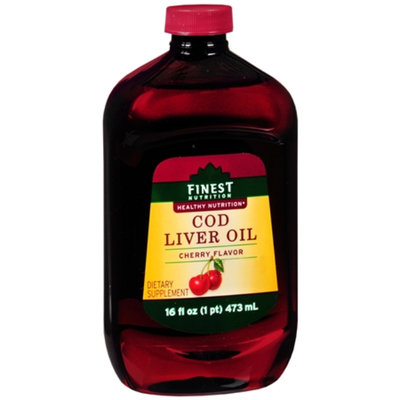 Finest Nutrition Cod Liver Oil Dietary Supplement Liquid