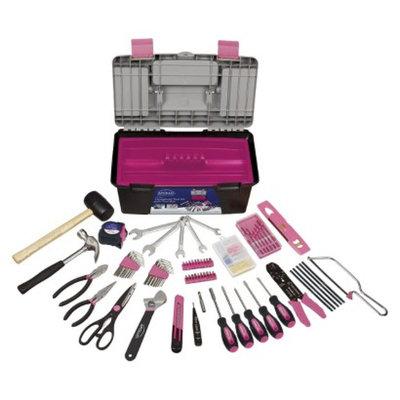 Apollo Tools 170-Pc. Household Tool Kit - Pink