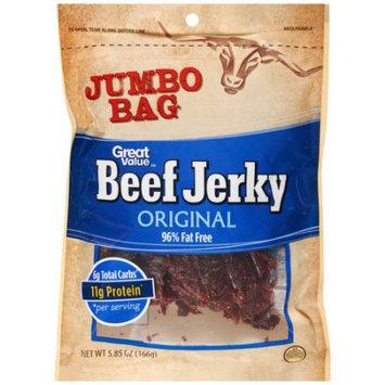 Wal-mart Stores, Inc. Great Value Original Beef Jerky, 5.85 oz