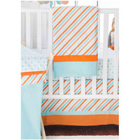 My Baby Sam Penny Lane 3-Piece Crib Set