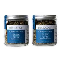 Spiceologist - Greek Freak BBQ Rub/Seasoning, Mediterranean Spice Blend - 9 oz