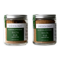Spiceologist - Rasta BBQ Rub and Seasoning - Jamaican Jerk Spice Blend - 9 oz.