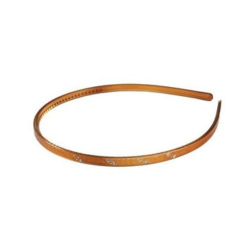 Smoothies Thin Headband with Crystals + Studs-Tort 01523
