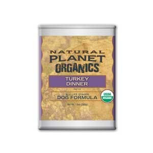 Natural Planet Organics Turkey All Life Stages Canned Dog Food