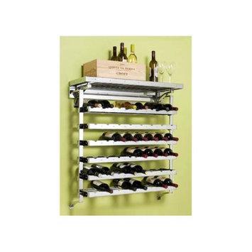 Pegrail 36 in. Chateau Wine Cellar (Satin Nickel)