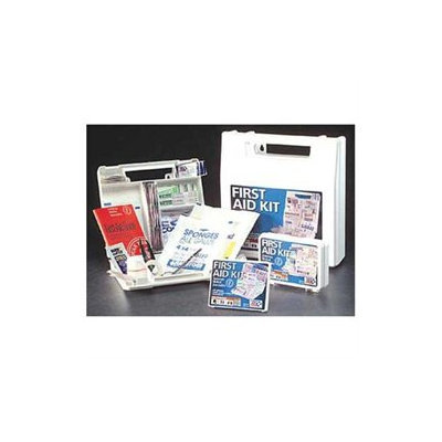 FIRST AID ONLY FAO122/LAB First Aid Kit, Bulk, White, 52 Pcs