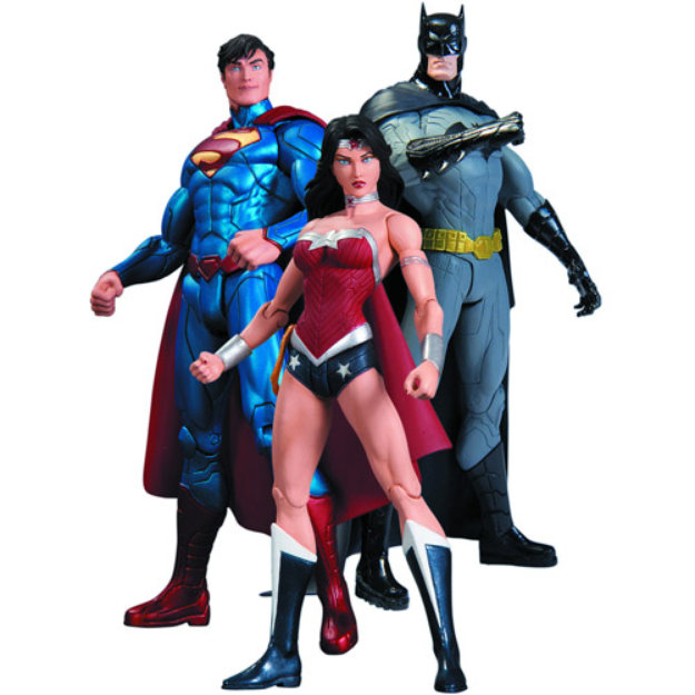 Justice League DC Collectibles DC Comics The New 52 Trinity War Action Figure Playset