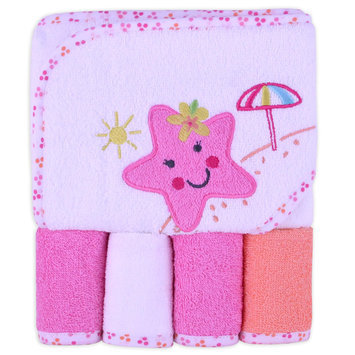 Triboro Quilt Mfg. Corp. Cuddletime 5 Piece Washcloth and Towel Set